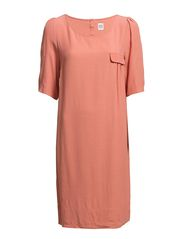 Saint Tropez DRESS WITH POCKET AND GATHERS