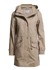 Saint Tropez PARKA COAT W HOOD & POCKETS