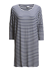 STRIPED OVERSIZE TUNIC - Isalle