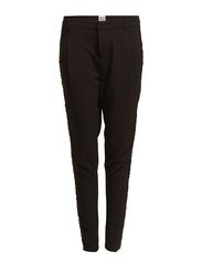 JODPUR PANT WITH SEQIUN BAND - BLACK