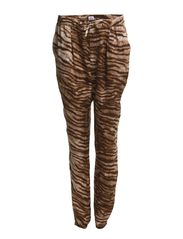 TIGER PRINTED PANTS - A.Dark