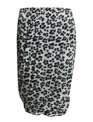 TWISTED LEO SKIRT - B. White