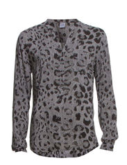 SHIRT WITH ALLOVER LEO PRINT - Ghost