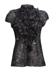 PRINTED RUFFLE SHIRT - D.Rock
