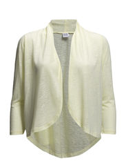 BURNOUT CARDIGAN - W.Yellow