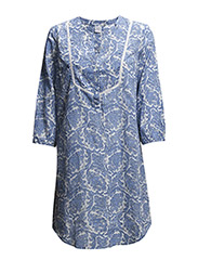 TUNIC W DETAILS AT YOKE/PRINT - Infinity