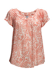 TUNIC WITH PRINT - CoralNeon