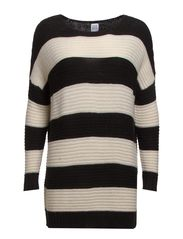 STRIPE SWEATER - Ice