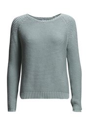 STRUCTURE SWEATER - C.Mint