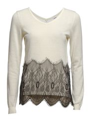 LACE SWEATER - Ice
