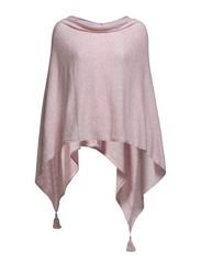 PONCHO WITH TASSELS - S.Rose