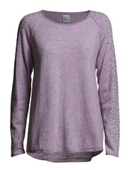 SWEATER W  STUD SLEEVES - LavendM