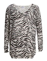 ZEBRA SWEATER - Ice