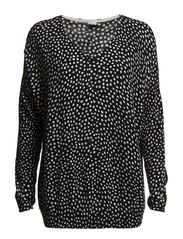 DOT SWEATER - Black