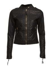PU JACKET - Black