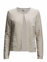 CLASSIC CARDIGAN JACKET - Toffee