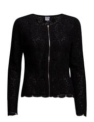 LACE JACKET - Black
