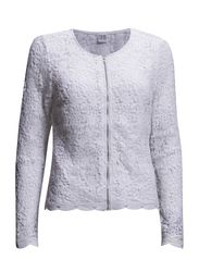 LACE JACKET - White