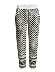JACQUARD PANTS - Ice