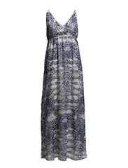 PRINTED MAXI DRESS - Infinity