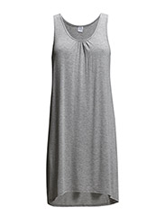 SIMPLE JERSEY DRESS - C.Grey M