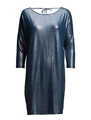 SHIMMER DRESS WITH TIE STRING - ESTATE