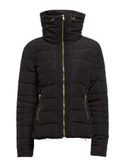 SHORT JACKET WITH ZIPPERS - Black