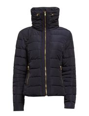 SHORT JACKET WITH ZIPPERS - D.Navy
