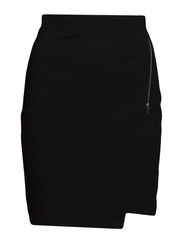 ASYMETRICAL SKIRT - Black