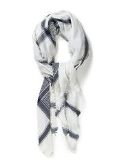 JACQUARD SCARF - BlueDawn