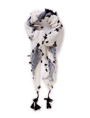 FLOWER JACQUARD SCARF - Estate