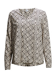 PRINTED BLOUSE - ICE