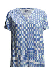 TOP W. TRIANGLE SCATTER PRINT - INFINITY