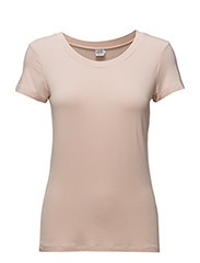 TSHIRT WITH ROUND NECK - ROSE D.