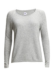 STRUCTURED SWEATER - C.Grey M
