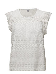 LACE T-SHIRT - ICE
