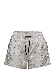 PRINTED SPORTS SHORTS - MIST