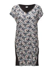 MIXED DRESS - A.GREEN