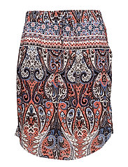PAISLEY PRINTED SKIRT - SH.ROSE