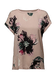 HOMEWORKER PRINTED T-SHIRT - FAWN