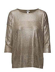 FOIL PRINTED RIB TOP - ASTI