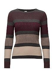 Saint Tropez - Striped Knit Blouse