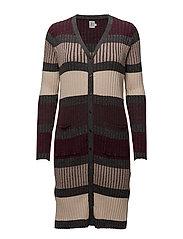 Saint Tropez - Striped Knit Cardigan