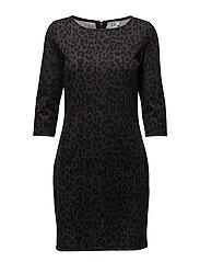 Classic Leopard Print Dress thumbnail