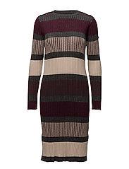 Saint Tropez - Striped Knit Dress