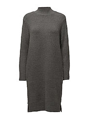 KNIT DRESS WITH SLITS AT SIDE - G.IRONM.