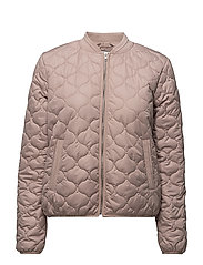 QUILT JACKET - FAWN
