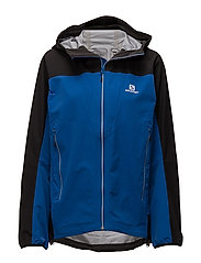 X ALP HYBRID JKT M - SURF THE WEB/BLACK