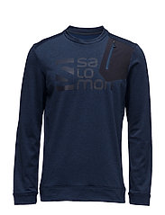 PULSE CREWNECK M - DRESS BLUE/BLACK/NIGHT SKY