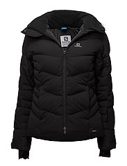 ICETOWN JKT W - BLACK HEATHER